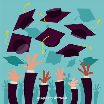 Feliz fondo de graduación