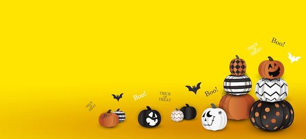 Feliz halloween. truco o trato. abucheo. concepto de vacaciones con fantasma