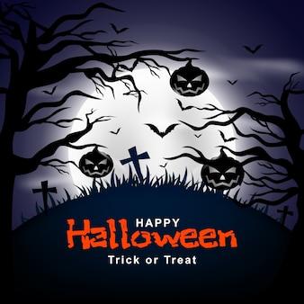Feliz halloween vector de fondo