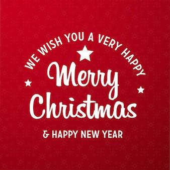 Feliz navidad 2019 fondo