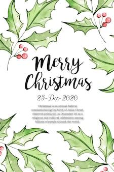 Feliz navidad 25 de diciembre diseño de carteles