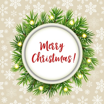 Feliz navidad y año nuevo fondo.