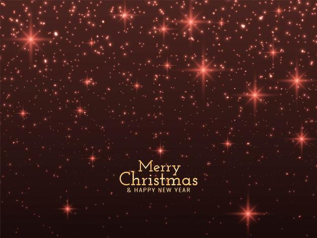 Feliz navidad brilla fondo