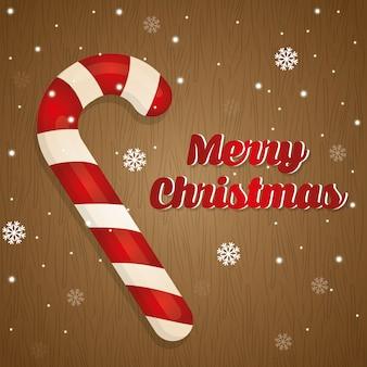 Feliz navidad colorido tarjeta gráfica