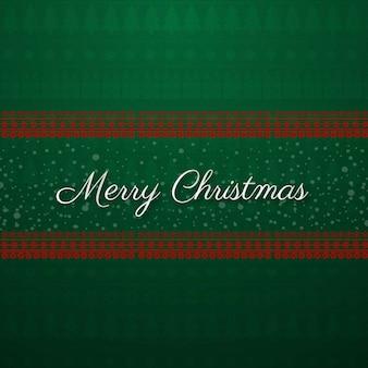Feliz navidad con fondo verde