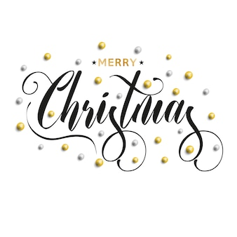 Feliz navidad decorada