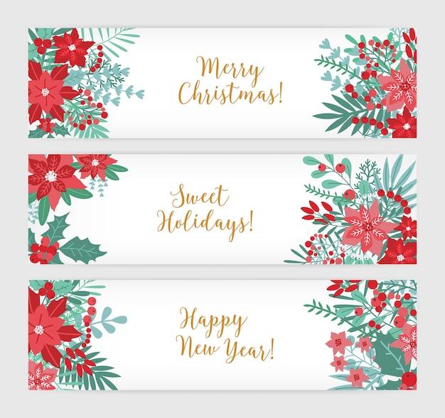 Feliz navidad, dulces vacaciones y próspero año nuevo