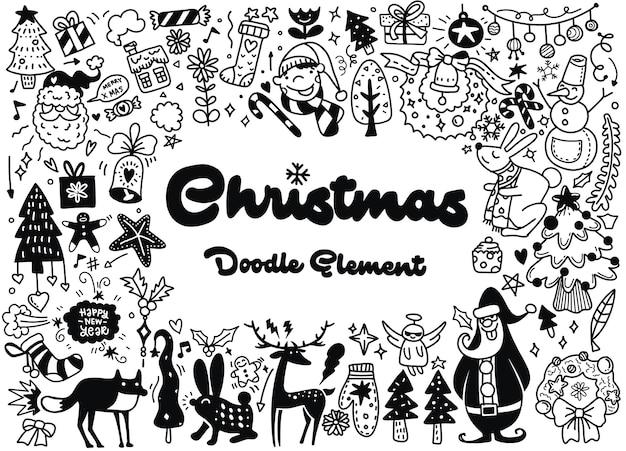 Feliz navidad ilustracion
