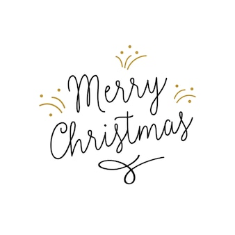 Feliz navidad letras con destellos