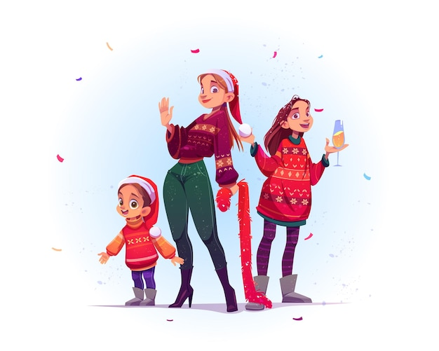 Feliz navidad y próspero año nuevo celebración