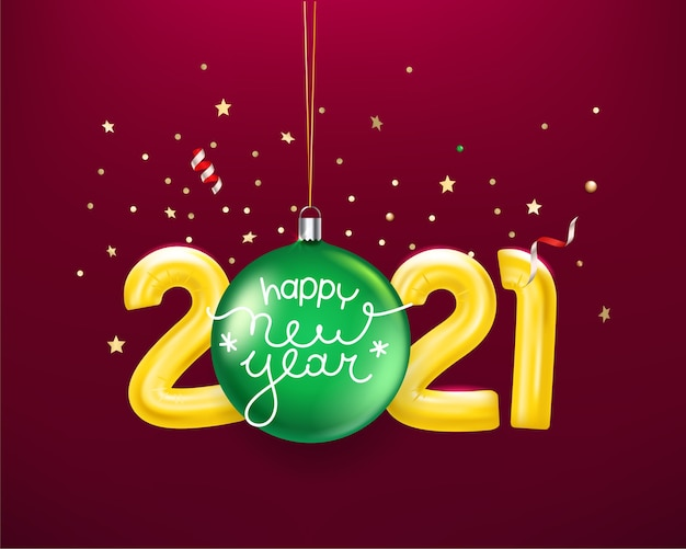 Feliz navidad y próspero año nuevo tarjeta