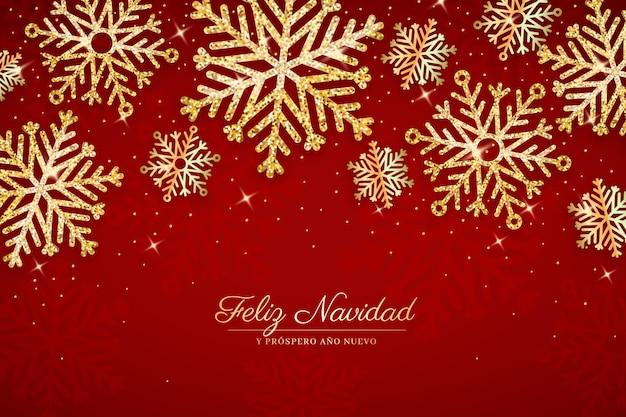 Feliz navidad realista