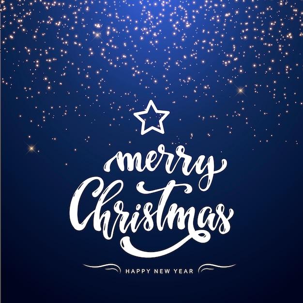 Feliz navidad, tarjeta de felicitación