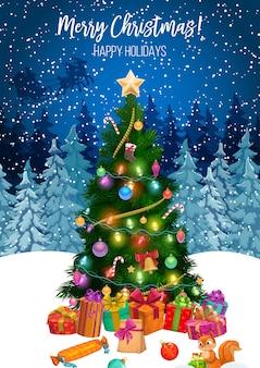 Feliz navidad vacaciones de invierno