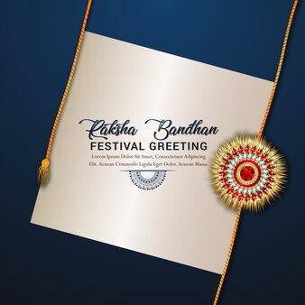 Feliz raksha bandhan celebration concept