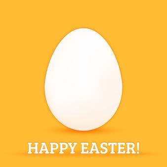 Feliz tarjeta de huevo de pascua