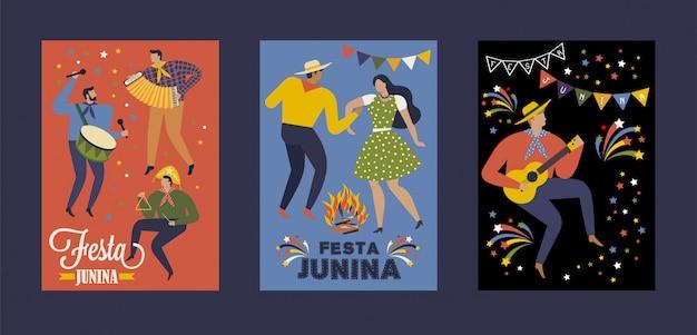 Festa junina brasil festival de junio.