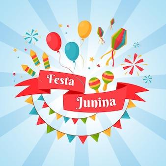 Festa junina día del evento