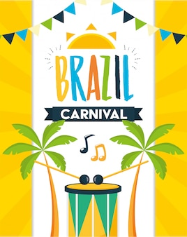 Festival de carnaval de brasil