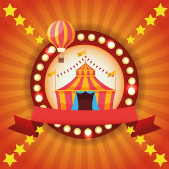 Festival de feria de circo