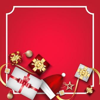 Festival de navidad de fondo