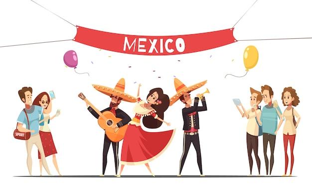 Festival tradicional mexicano