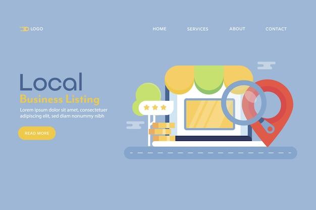Ficha de empresa local