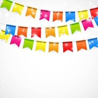 Fiesta con banderas