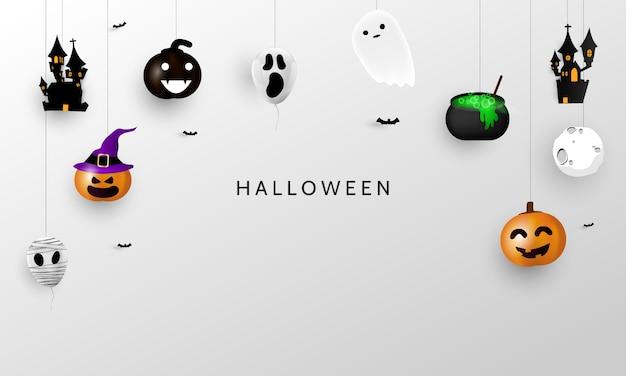 Fiesta de carnaval de halloween,
