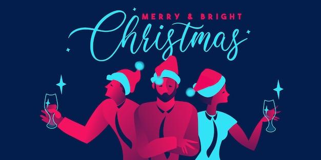 Fiesta corporativa de navidad