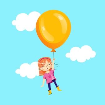 Fiesta infantil, concepto de invitación de vacaciones para niños.