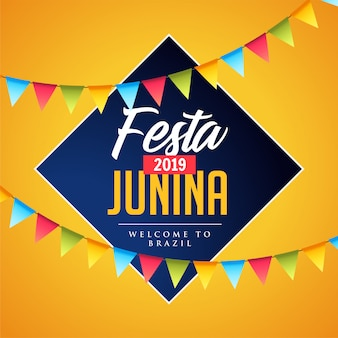 Fiesta junina decorativa