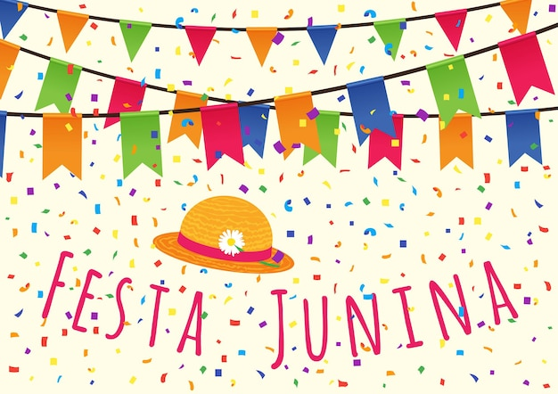 Fiesta de junio de brasil. fiesta latinoamericana, la fiesta de junio de brasil.