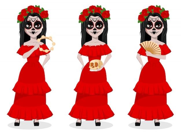 Fiesta tradicional del día de muertos