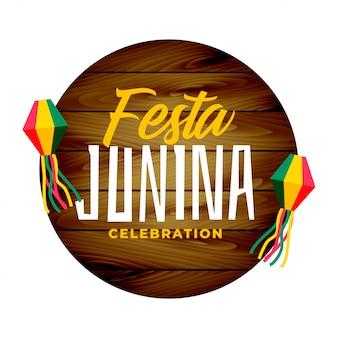 Fiesta tradicional junina