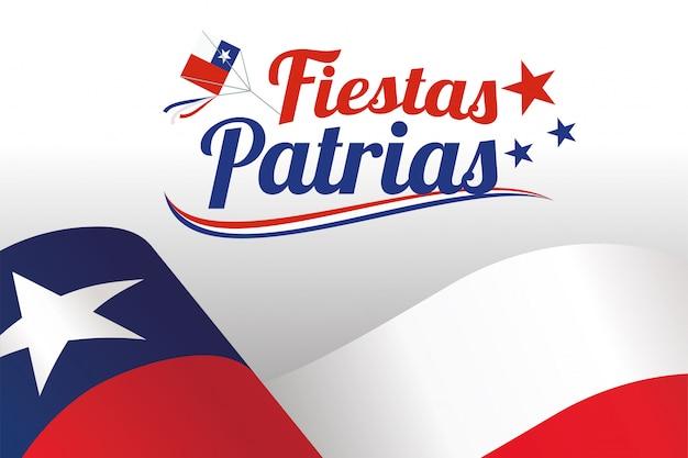 Fiestas patrias - celebración del día de la independencia de chile