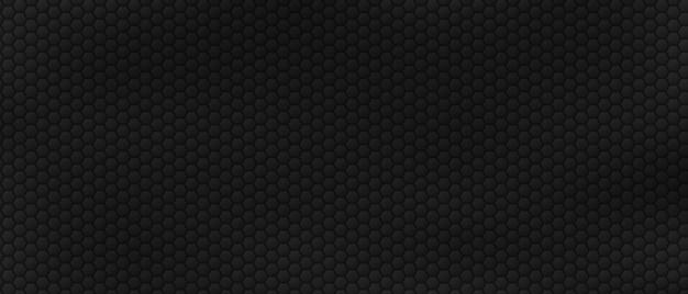 Filas de acero hexágonos fondo azulejos poligonales geométricos