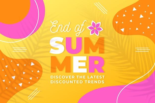 Fin de temporada venta de verano