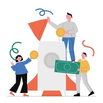 Financiamiento de puesta en marcha, planificación financiera, inversión.