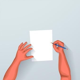 Firmando algún documento