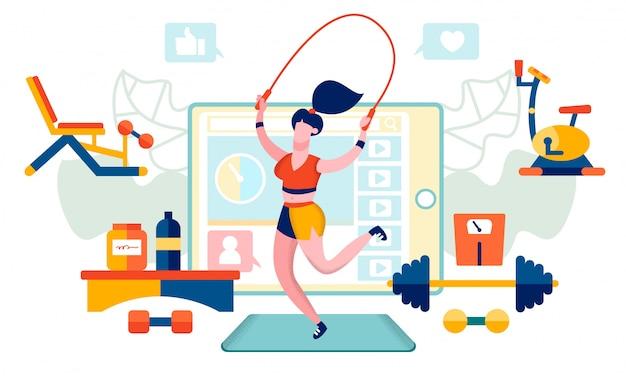 Fitness y estilo de vida saludable