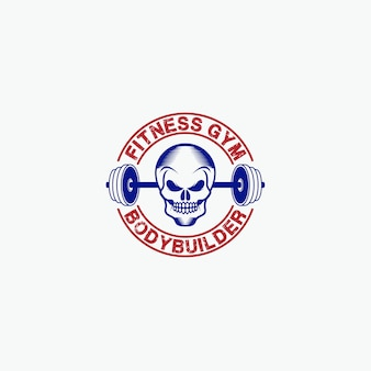 Fitness gym- badges -logo