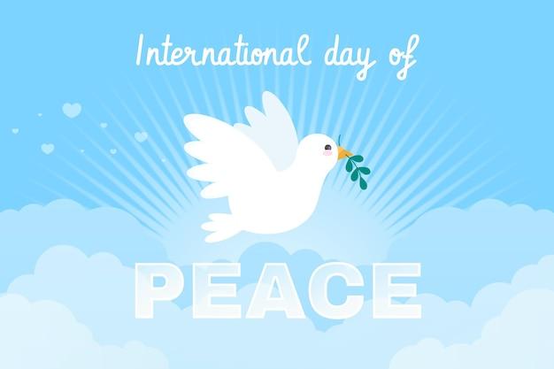 Flat dia internacional de la paz