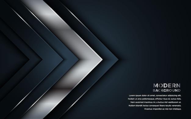 Flecha vector superposición de capas de fondo.
