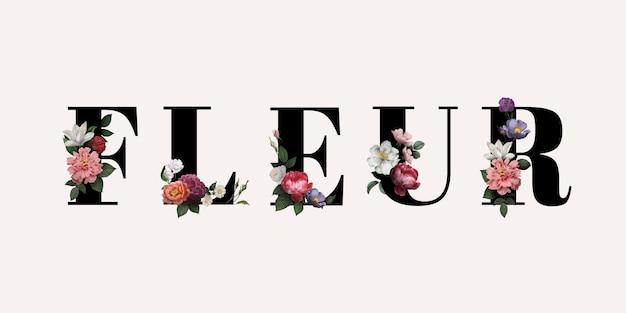Flor en flor