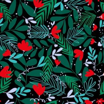 Flor ingenua pradera fondo colorido