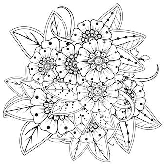 Flor de mehndi