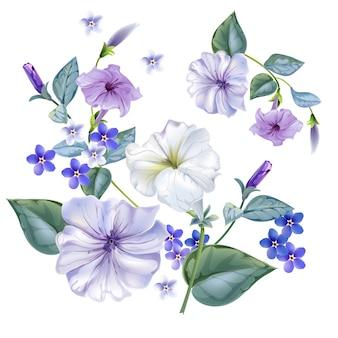 Flor de petunia