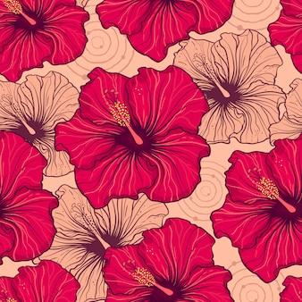 Flores hibiscus
