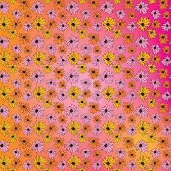 Flores vector patrón